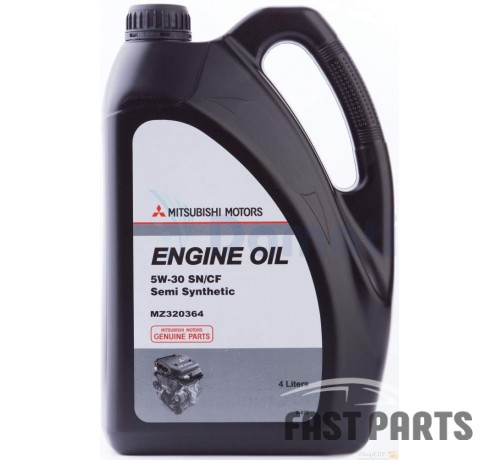 "Масло моторное MITSUBISHI ""Engine Oil SM 5W-30"" 4л. MZ320364"