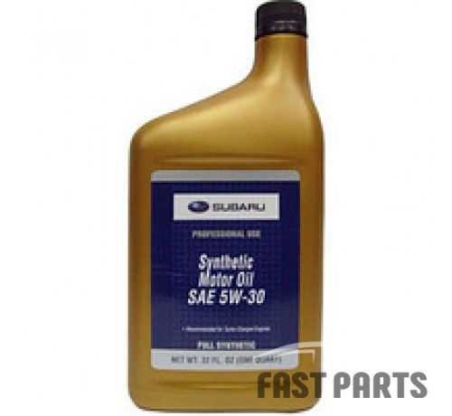 "Масло моторное SUBARU ""SYNTHETIC OIL 5W-30"", 0.946л SOA427V1410"