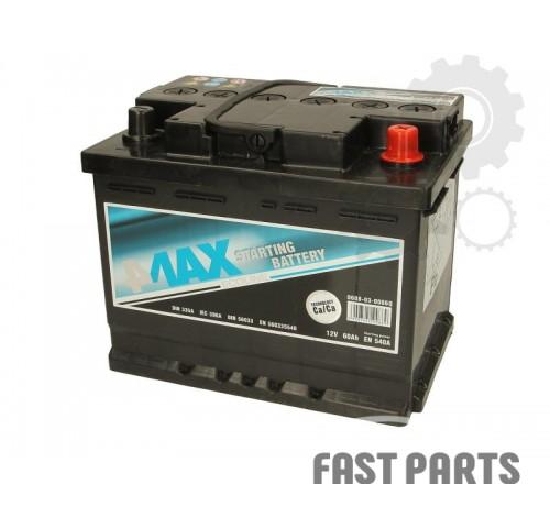 Аккумулятор 4MAX 0608-03-0006Q 60Ah/540A