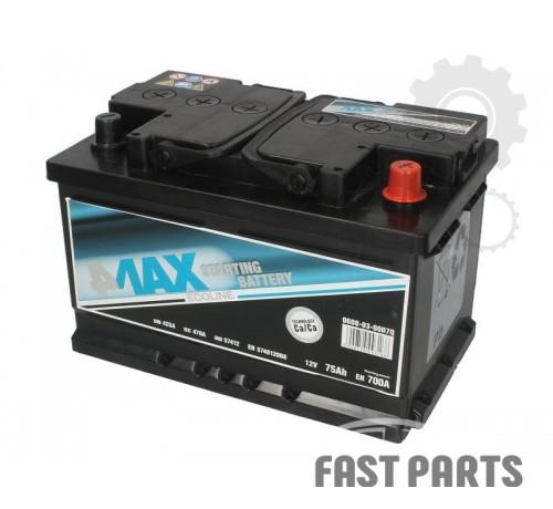 Аккумулятор 4MAX 0608-03-0007Q 75Ah/700A