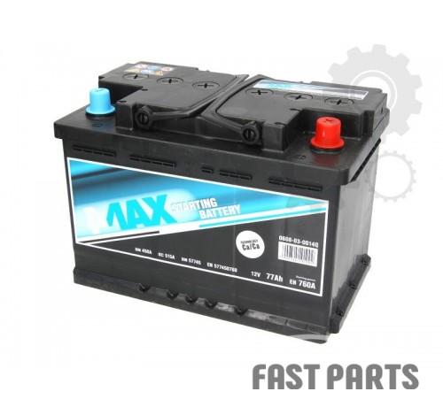 Аккумулятор 4MAX 0608-03-0014Q 77Ah/760A