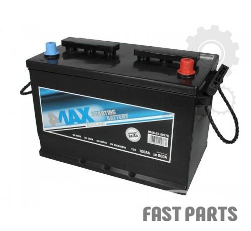 Аккумулятор 4MAX 0608-03-0017Q 100Ah/800A