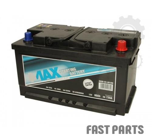Аккумулятор 4MAX 0608-03-0018Q 80Ah/720A
