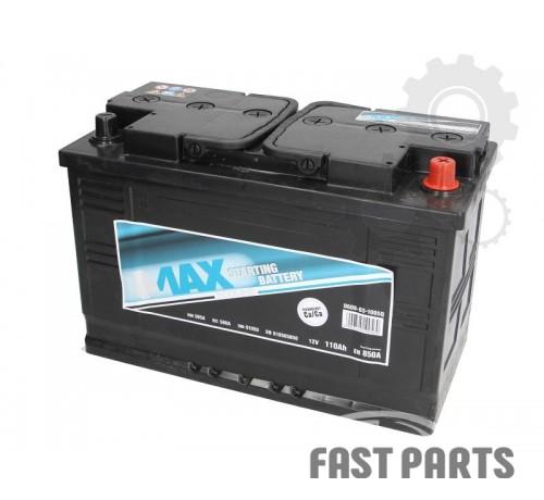 Аккумулятор 4MAX 0608-03-1005Q 110Ah/850A