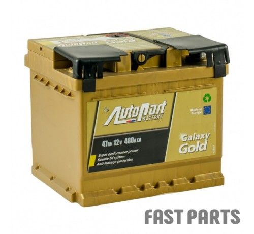 Аккумулятор AutoPart 62Ah/580A 12V Galaxy Gold Ca-Ca (0)
