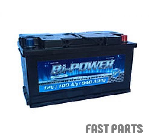Аккумулятор BI-POWER 100Аh/840A 12V Euro