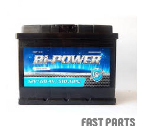 Аккумулятор BI-POWER 60Аh/510A 12V Euro