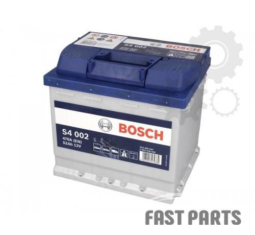 Аккумулятор BOSCH 0 092 S40 020 52Ah/470A