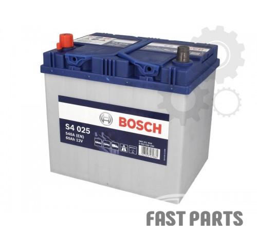 Аккумулятор BOSCH 0 092 S40 250 60Ah/540A