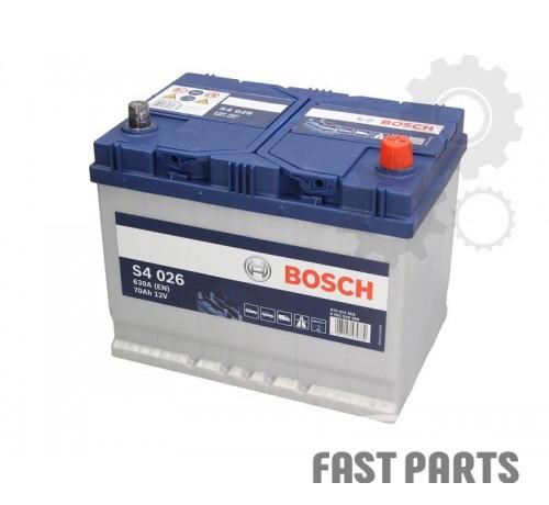 Аккумулятор BOSCH 0 092 S40 260 70Ah/630A