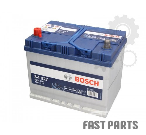 Аккумулятор BOSCH 0 092 S40 270 70Ah/630A