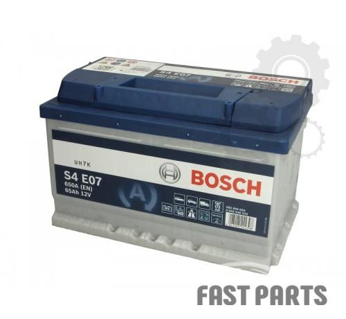 Аккумулятор BOSCH 0 092 S4E 070 65Ah/650A