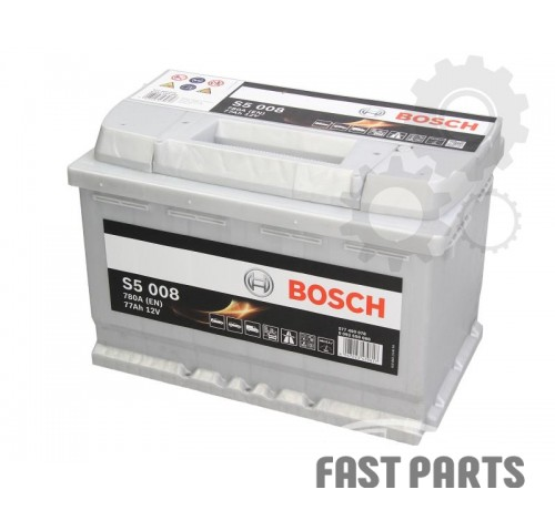 Аккумулятор BOSCH 0 092 S50 080 77Ah/780A