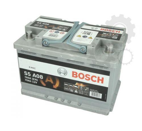 Аккумулятор BOSCH 0 092 S5A 080 70Ah/760A