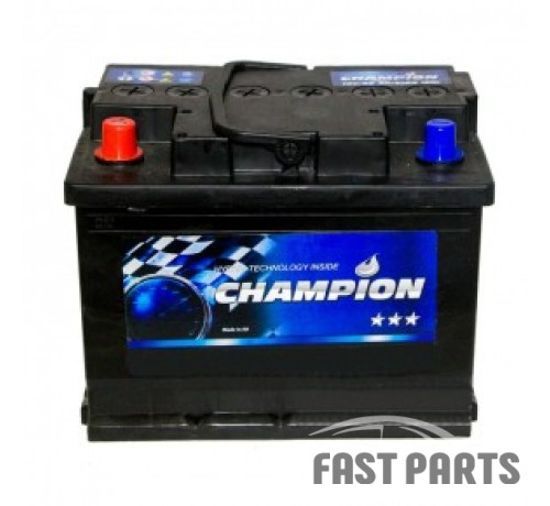 Аккумулятор Champion Black 60Ah/510A 12V Japan (1)