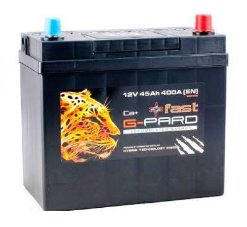 Аккумулятор G-Pard 45 Аh/400А 12V Fast G-Pard Japan Euro(0)