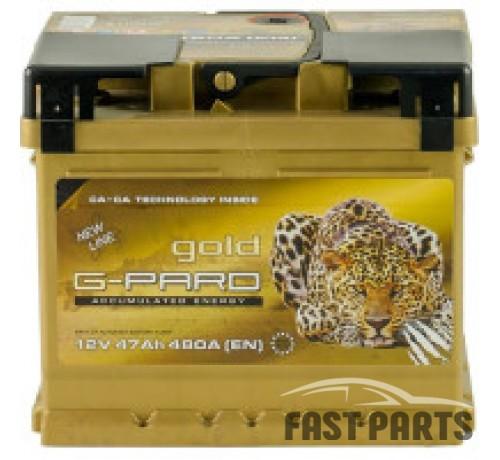 Аккумулятор G-Pard 47 Аh/480А 12V Gold G-Pard Euro(0)