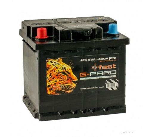 Аккумулятор G-Pard 55 Аh/480А 12V Fast G-Pard (1)