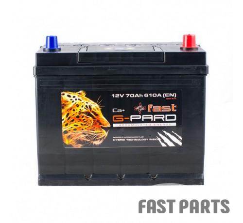 Аккумулятор G-Pard 70 Аh/610А 12V Fast G-Pard Japan Euro(0)