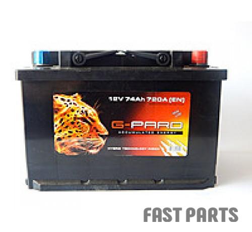 Аккумулятор G-Pard  74Аh/720A 12V G-Pard Euro(0)