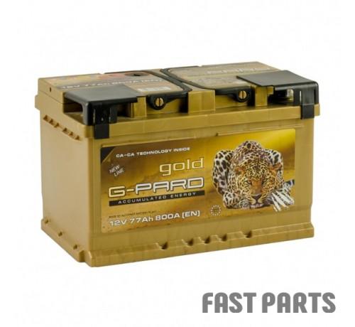 Аккумулятор G-Pard 77 Аh/800А 12V Gold  G-Pard Euro(0)