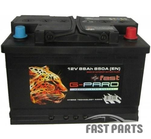Аккумулятор G-Pard 88 Аh/850А 12V Fast G-Pard Euro(0)