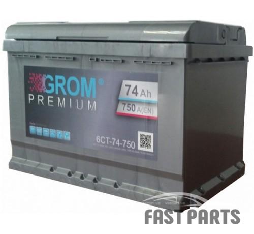 Аккумулятор GROM 6CT-74Ah (1)