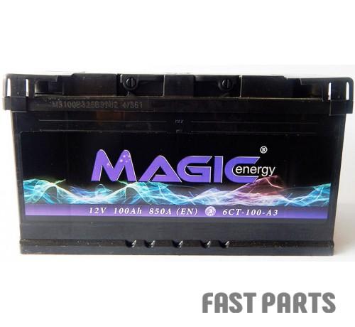 Аккумулятор MAGIС ENERGY 100 Ah/850А 12V Euro (0)