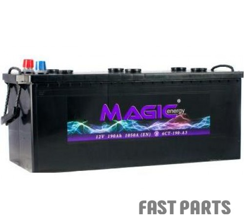 Аккумулятор MAGIС ENERGY 190 Ah/1050А 12V Euro (3)