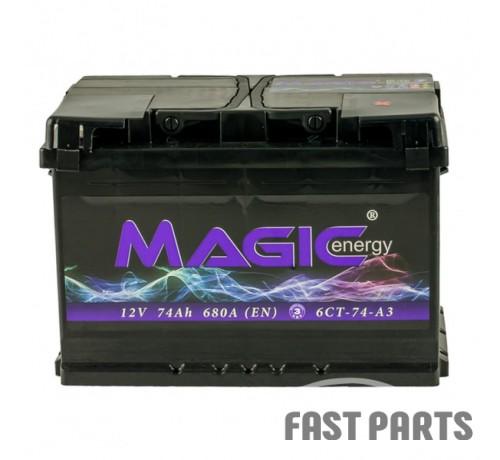 Аккумулятор MAGIС ENERGY 74 Ah/680А 12V Euro (0)