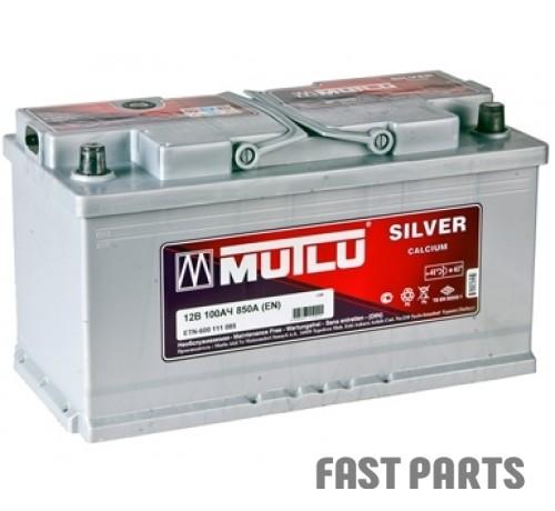 Аккумулятор MUTLU 100AH R+ EURO