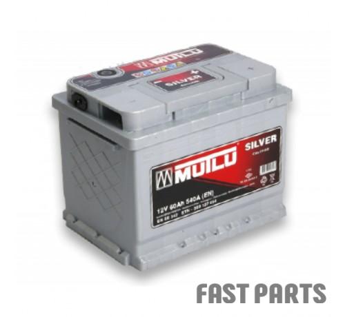 Аккумулятор MUTLU 60AH R+ EURO