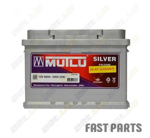 Аккумулятор MUTLU 60AH R+ низкий EURO