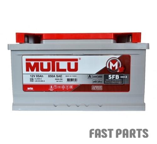 Аккумулятор MUTLU 85AH R+ EURO