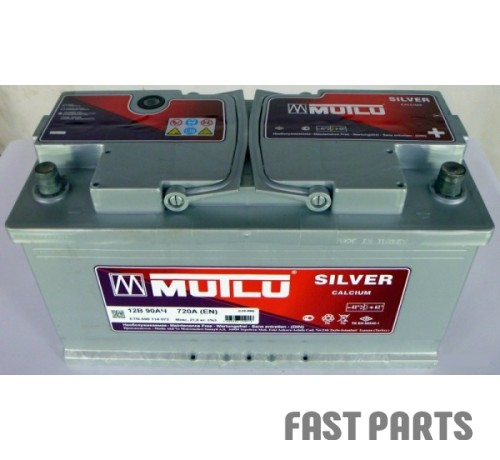 Аккумулятор MUTLU 90AH R+ EURO