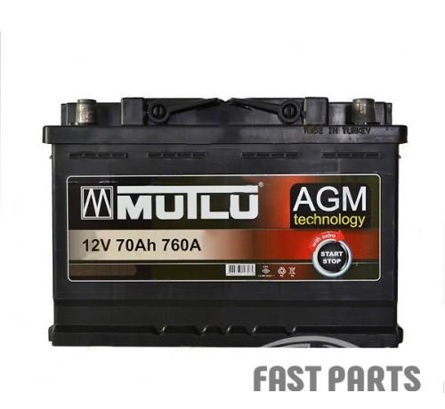 Аккумулятор MUTLU AGM-70