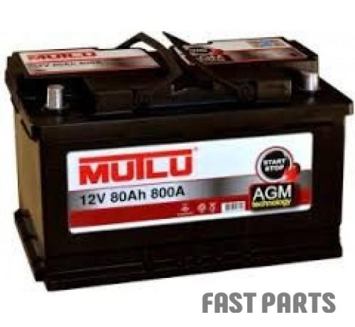 Аккумулятор MUTLU AGM-80