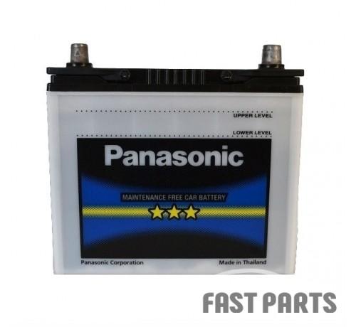 Аккумулятор Panasonic (46B24RS-FS) 6CT-45Ah JL+ 469A (EN)
