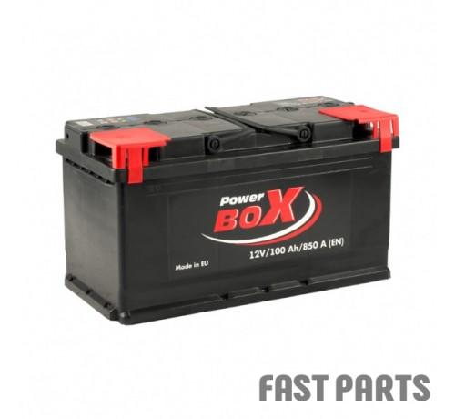 Аккумулятор PowerBox 100 Аh/850A 12V А1 Euro(0)