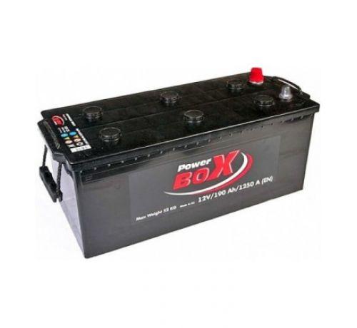 Аккумулятор PowerBox 190 Аh/1250A 12V А1 Euro(3)