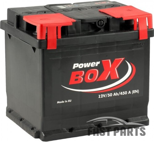 Аккумулятор PowerBox 50 Аh/450A 12V А1 Euro(0)