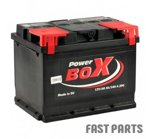 Аккумулятор PowerBox 60 Аh/540A 12V А1 (1)