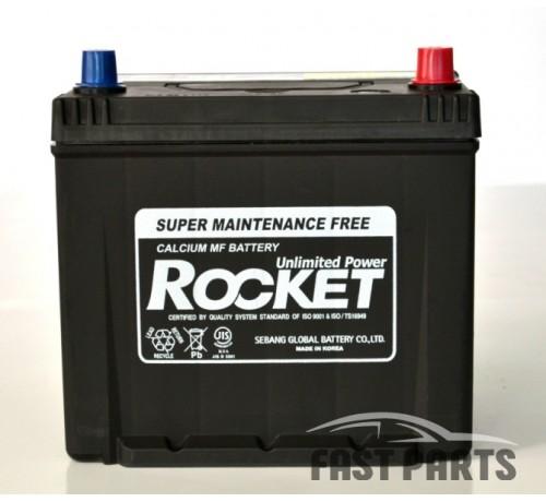 Аккумулятор Rocket (SMF 75D23R) 65Ah JL+ 580A (EN), шт