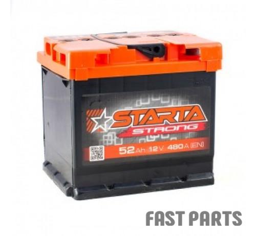 Аккумулятор STARTA Strong 52 Аh/480A 12V АЗ (0)