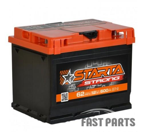 Аккумулятор STARTA Strong 62 Аh/12V АЗ Euro (0)