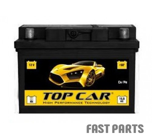 Аккумулятор TOP CAR PREMIUM 6CT-65Ah (1)