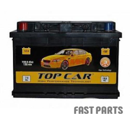 Аккумулятор TOP CAR PREMIUM 6CT-74Ah (1)