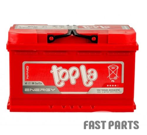 Аккумулятор Topla Energy 100Ah/800A 12V Euro (0)