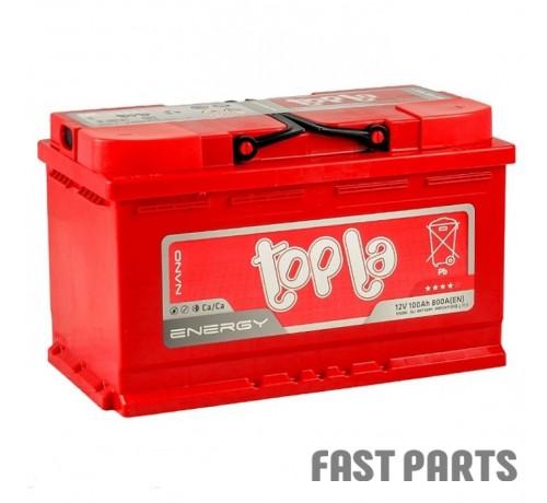 Аккумулятор Topla Energy 100Ah/800A 12V Euro (0) L4 короткий