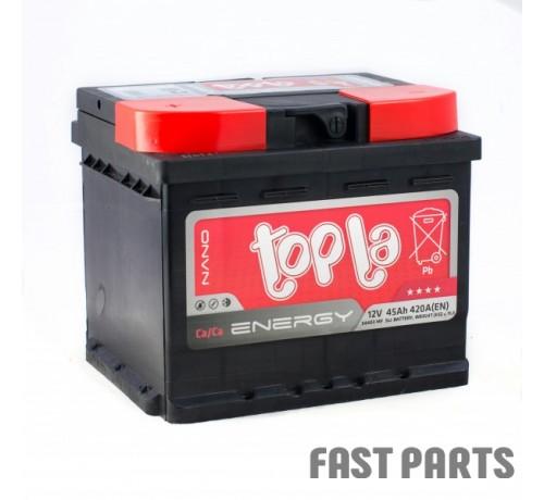 Аккумулятор Topla Energy 45Ah/420А 12V Euro (0)